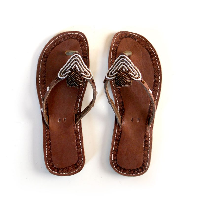 African-Beads-Sandals-40-size-40.