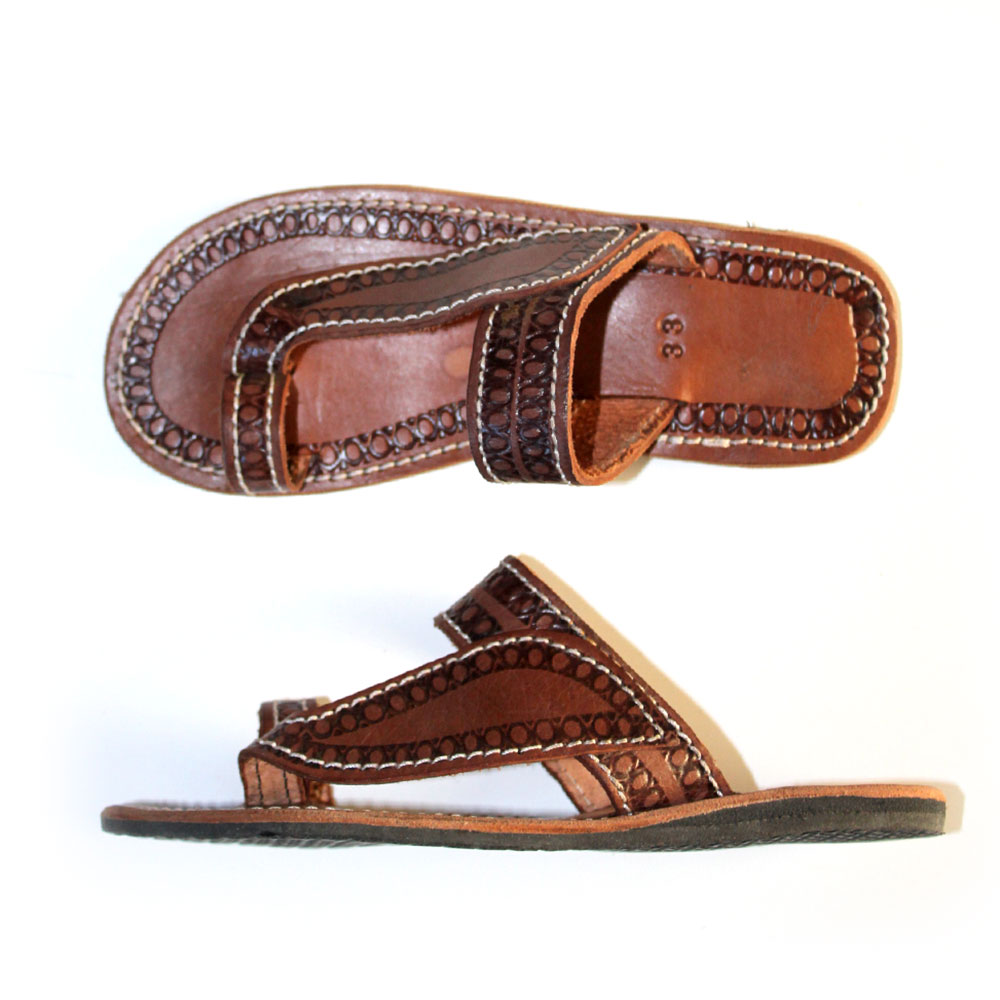 Leather Sandals for Kids - Size 33