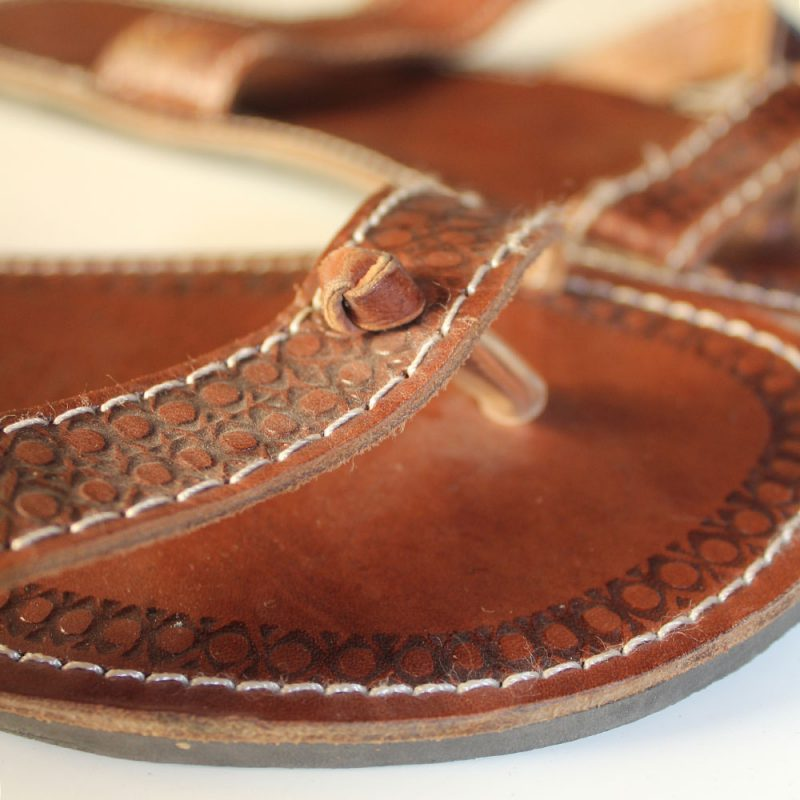 Leather-african-flipflops-Size-42