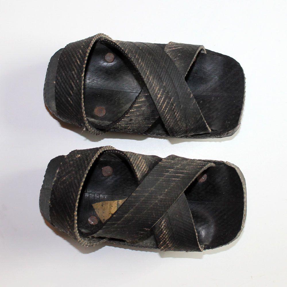 Baby Masai Shoes Black Malaika