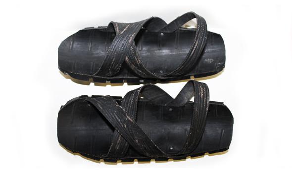 Original Masai Shoes Size 42 187 Black Malaika African